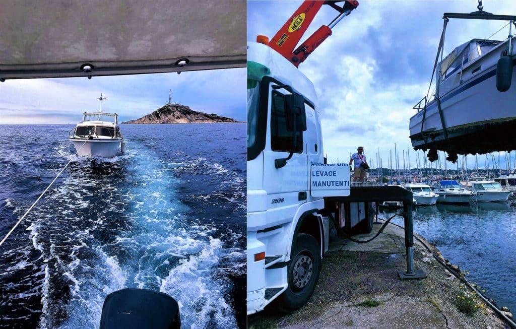 Casse marine : Destruction et enlèvement