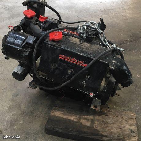 Moteur Nanni Kubota Diesel 4 cylindres