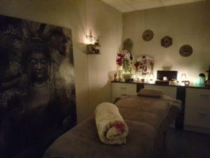 Pieds roses massage bien etre