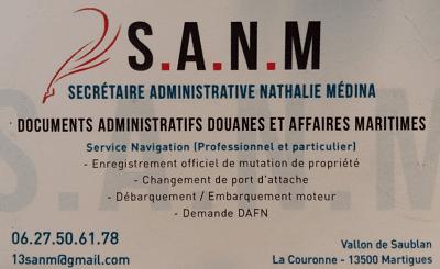 SANM secrétaire administrative martitime