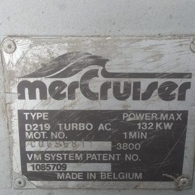 Moteur mercruiser 180cv