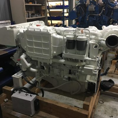 moteur MAN D2866LE403